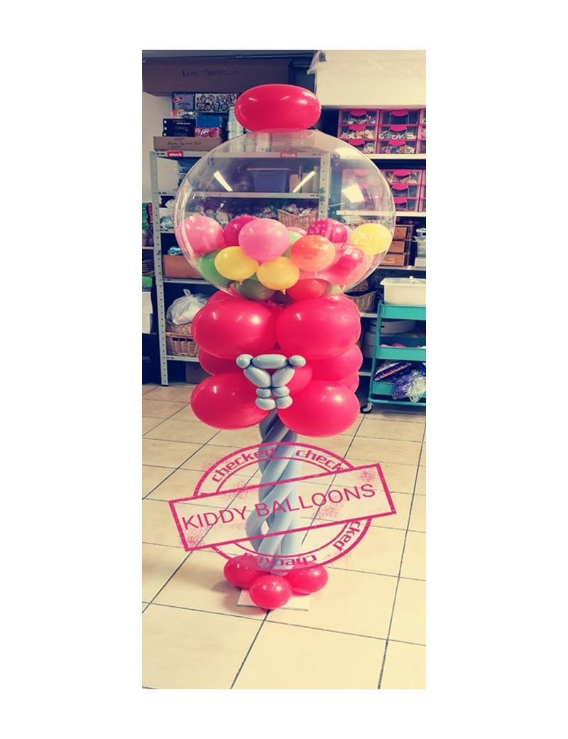 Distributeur de bonbons en ballons