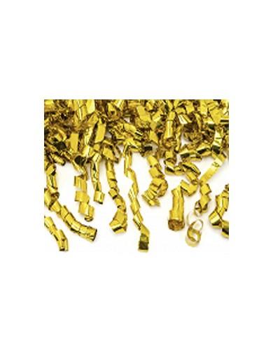 Canon à confettis doré 60 cm