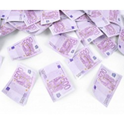 Canon à confettis euros