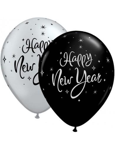 Happy New Year Noir ou Argenté