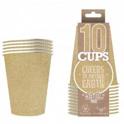 Original Cup Scintillant Doré
