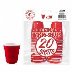 Original Cup Shooters Rouges