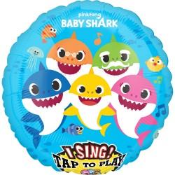 Baby shark ballon chantant