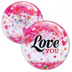 Love You confettis