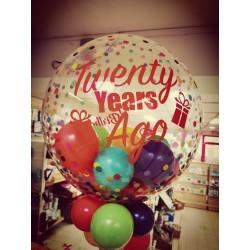 Ballon personnalisé âge