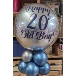 Ballon personnalisé 20 ans