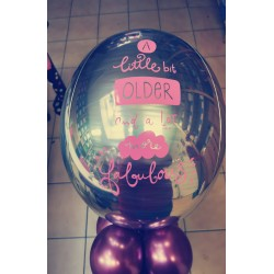 Ballon personnalisé birthday