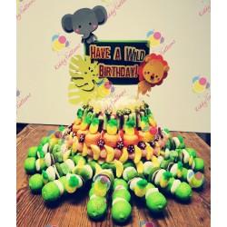 Gâteau de Bonbons Animaux...