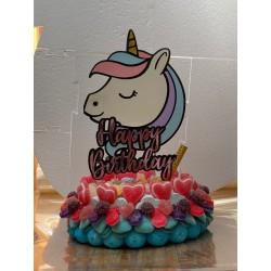Gâteau de Bonbons Licorne