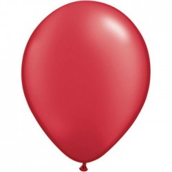 Ballon perlé Ruby Red