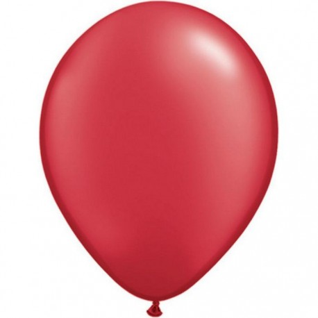 Ballon perlé Ruby Red