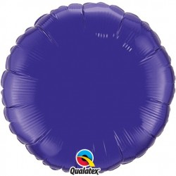Rond aluminium Quartz Purple