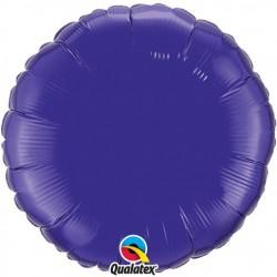 Rond Quartz Purple