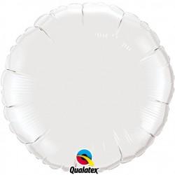 Rond aluminium White
