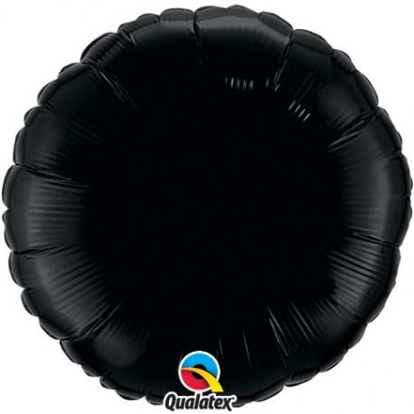 Rond aluminium Onyx Black