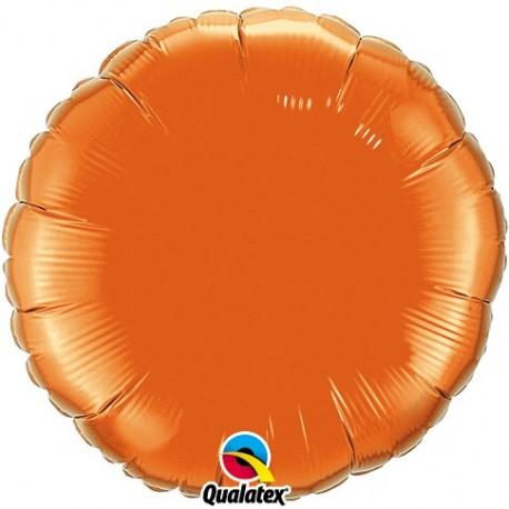 Rond aluminium Orange