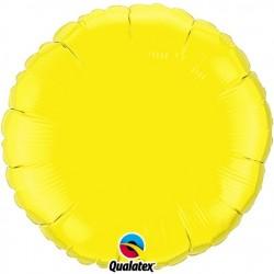Rond aluminium Yellow