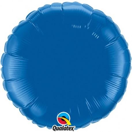 Rond aluminium Dark Blue