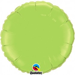 Rond aluminium Lime Green