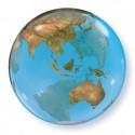 Bubble Globe terre