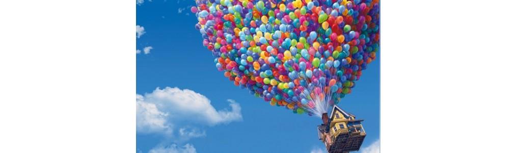 Ballons latex imprimés